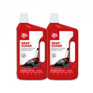 Deep Clean Carpet Cleaner Solution Twin Pack